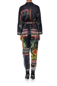 ZIP FRONT PANEL JUMPSUIT BLACKHEATH BETTY
