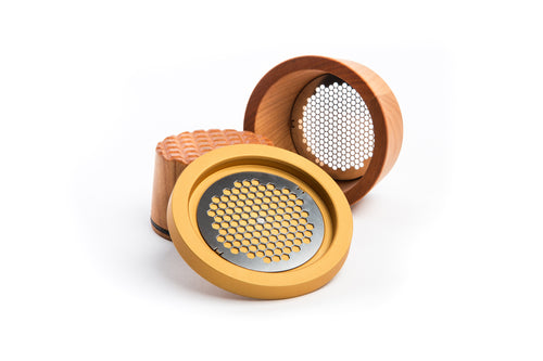 Interchangeable grater plates
