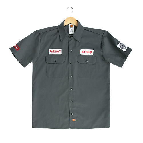 Bow Valley BBQ Dickies Work Shirt
