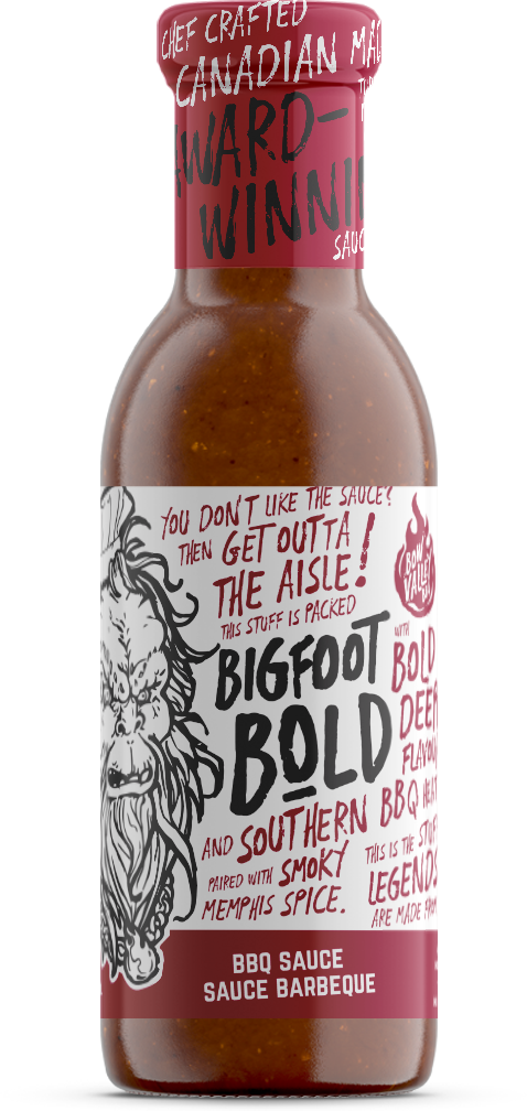Bigfoot Bold BBQ Sauce