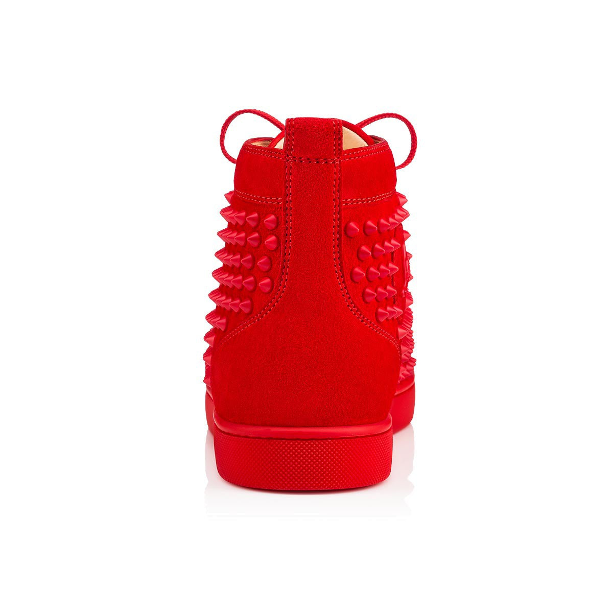 6adeb6639114 Red Suede High Top Louboutin Sneakers – Antigua fashion