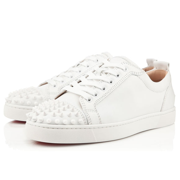 ebf9795136d White Leather Low Top Louboutin Sneakers – Antigua fashion