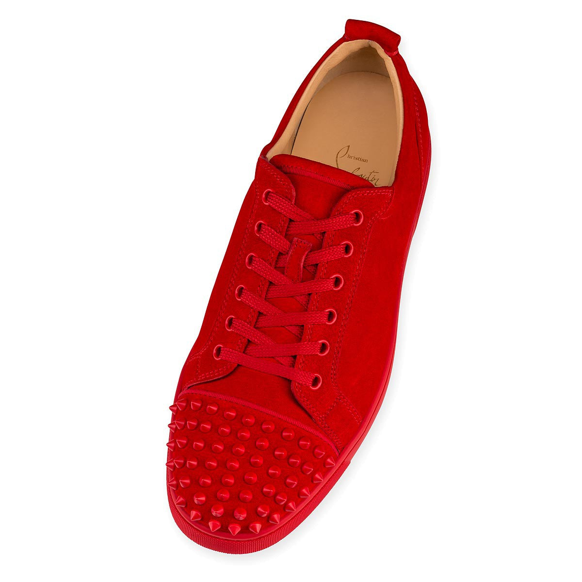 dbe4141f3ca3 Red Suede Low Top Louboutin Sneakers – Antigua fashion