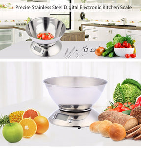 Digital Scale With Bowl Cook Tool