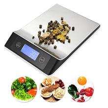 Load image into Gallery viewer, Portable Balance Digital Kitchen Scale