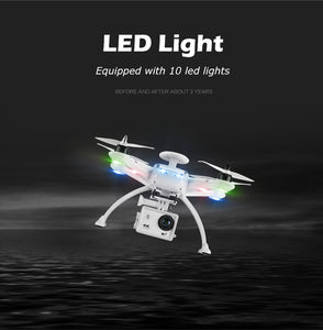 Professional RC Drone Quadcopter with HD Camera 4K 1080p
