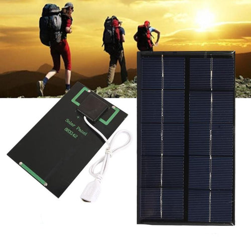 Portable USB Solar Panel Charger