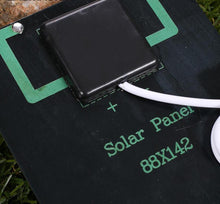 Load image into Gallery viewer, Portable USB Solar Panel Charger