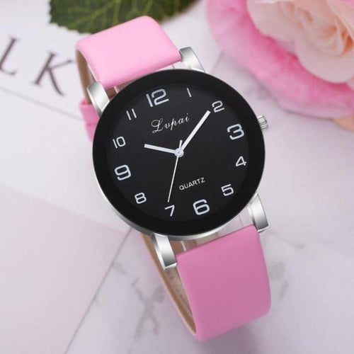 Women's Leather Strap Watch