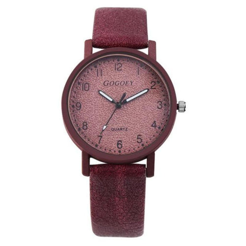 Fashion Leather Wristwatch