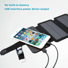 Load image into Gallery viewer, Portable Outdoor Solar Panel Charger