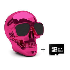 Wireless Skull Bluetooth Speaker