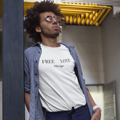 FREE LOVE Moringa Men's T-Shirt