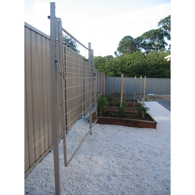 Austral Addaline 35 Clothesline - Installed with Mount Post - Folded Down
