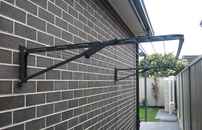 Austral Compact 28 Clothesline - Installed Wall Mounted - Clothesline Installation Australia