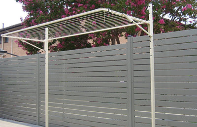 Austral Compact 28 Clothesline - Installed Post Mounted - Clothesline Installation Australia