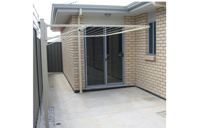 Austral Standard 28 Clothesline - Wall Mounted Installed - Clotheslines Installation Australia