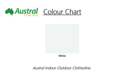 Austral Indoor Outdoor Clothesline - Colour Sheme - Clotheslines Installation Australia