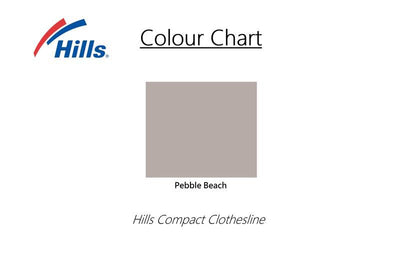 Hills Mini Clothesline - Colour Scheme - Hills - Clothesline Installation Australia