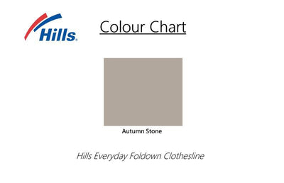 Hills Everyday Single Clothesline - Colour Scheme - Clothesline Installation Australia
