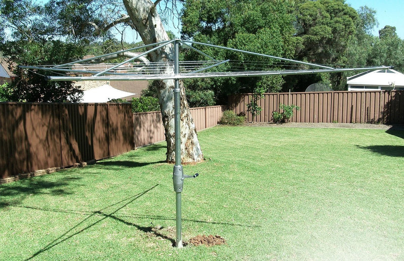Austral Super 4 Clothes Hoist - Classic Cream - Clotheslines Installation Australia