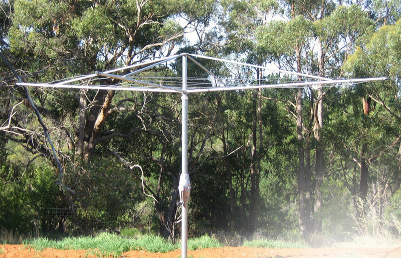 Austral Super 5 Clothes Hoist - Classic Cream - Clotheslines Installation Australia