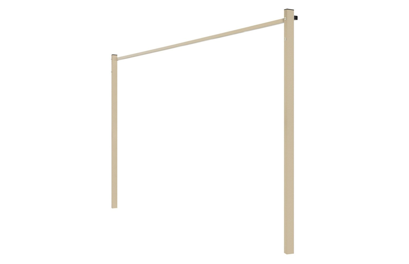 Austral Ground Mount Kit - Classic Cream - Clotheslines Installation Australia