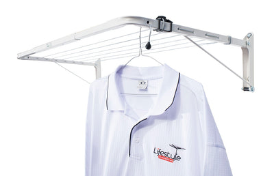 Austral Indoor Outdoor Clothesline - With Hanging Shirt - Clotheslines Installation Australia
