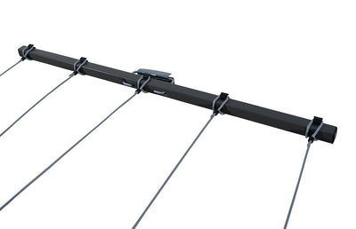 Austral Retractaway 40 Clothesline - Line Pulled Out - Clotheslines Installation Australia