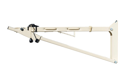Austral Slenderline 16 Clothesline - Classic Cream Right Side View - Clotheslines Installation Australia