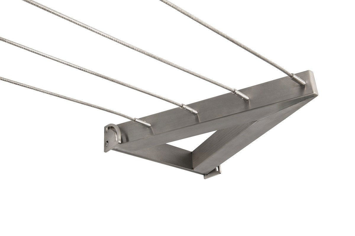 Evolution 316 Stainless Steel Clothesline - 4 Line Stainless Steel - Clothesline Installation Australia