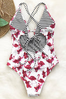 FREE TO FLY PRINT ONE-PIECE SWIMSUIT