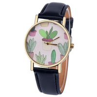 High Quality Ladies Watch Small Fresh Leather Band Analog Quartz Vogue Saat Wrist