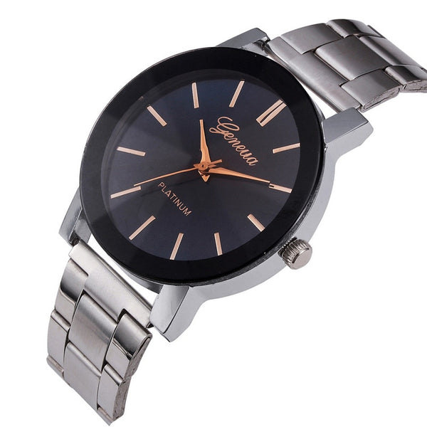 Casual Males Business women Men Watches Bracelet clock