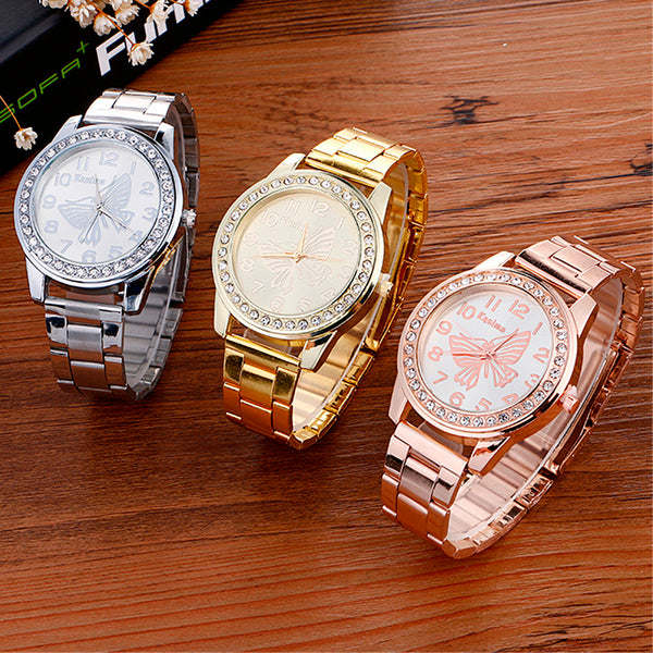 Stainless Steel Sport Quartz Wrist Hour