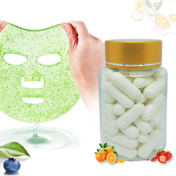 50 Powder Capsules for Facial Masks