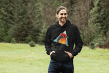 Vermilion Flycatcher Hooded Sweatshirt - Find Art Co.