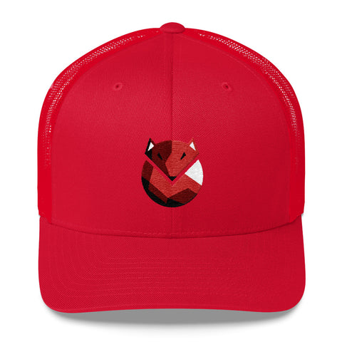 Wild Fox Trucker Cap - Find Art Co.