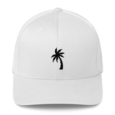 Palm Tree Structured Twill Cap - Find Art Co.