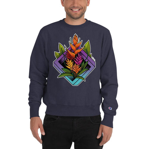 Heliconia Champion® Sweatshirt - Find Art Co.
