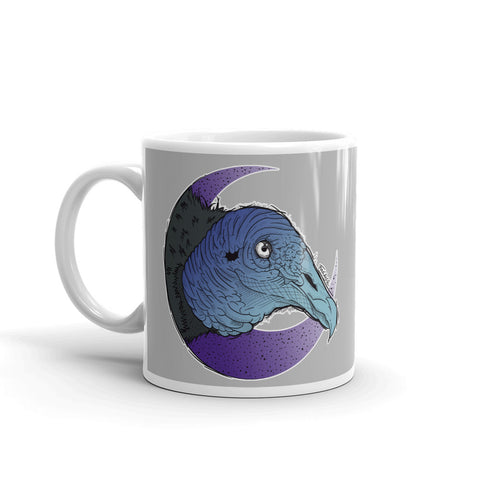 Black Vulture Mug - Find Art Co.