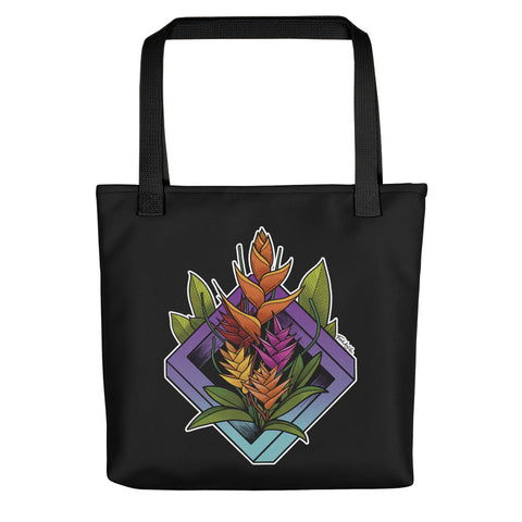 Heliconia Tote bag - Find Art Co.