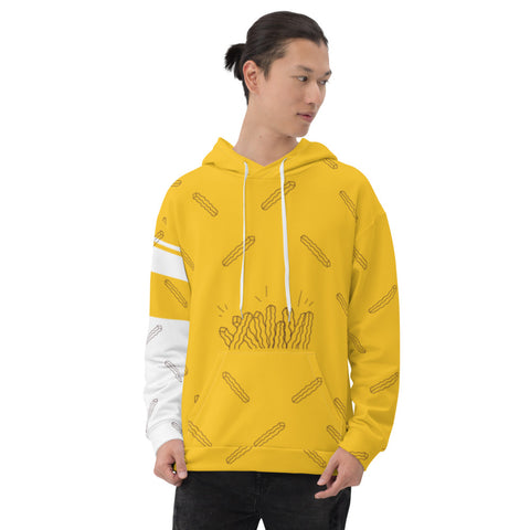 Fries All-Over Hoodie - Find Art Co.