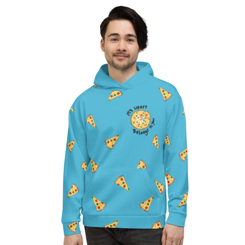 Pizza All-Over Hoodie - Find Art Co.
