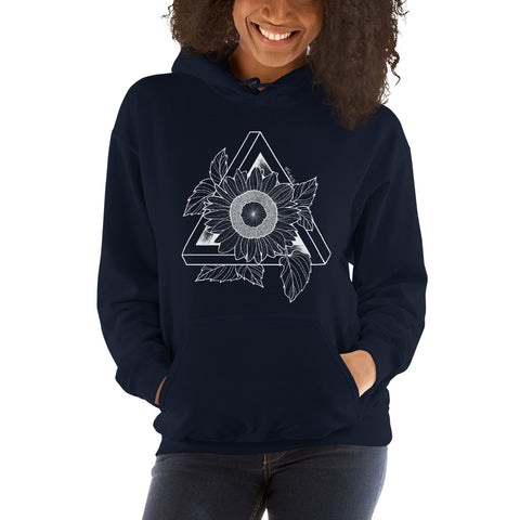 Sunflower Hooded Sweatshirt - Find Art Co.