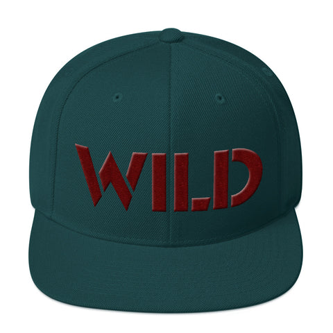 WILD Snapback Hat - Find Art Co.