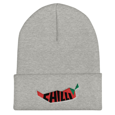 Chilli Cuffed Beanie - Find Art Co.