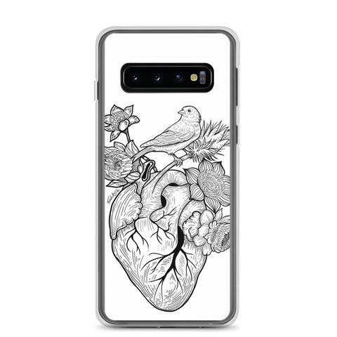 Flower Heart Samsung Case - Find Art Co.