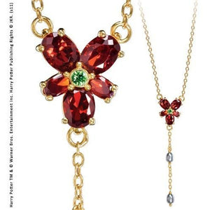Hermione's Red Crystal Necklace