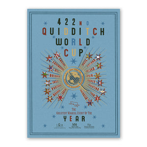 Mina Lima 422nd Quidditch World Cup Poster